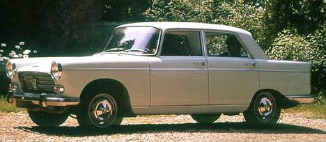 Peugeot 404 — типичный представитель среднего класса, пользовавшийся неплохим спросом.