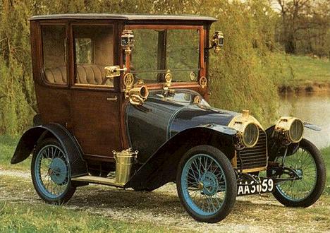 «Народный» Peugeot Bebe, спроектированный Эторе Бугатти.